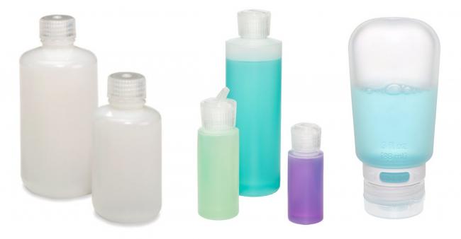 Nalgene® Round Leakproof Bottles | Translucent Flip-Spout Bottles | 3 oz. GoToob™