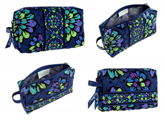 Medium Cosmetic & Small Cosmetic from Vera Bradley (photo source)