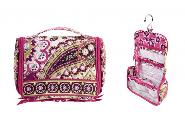 Mini Hanging Organizer from Vera Bradley (photo source)