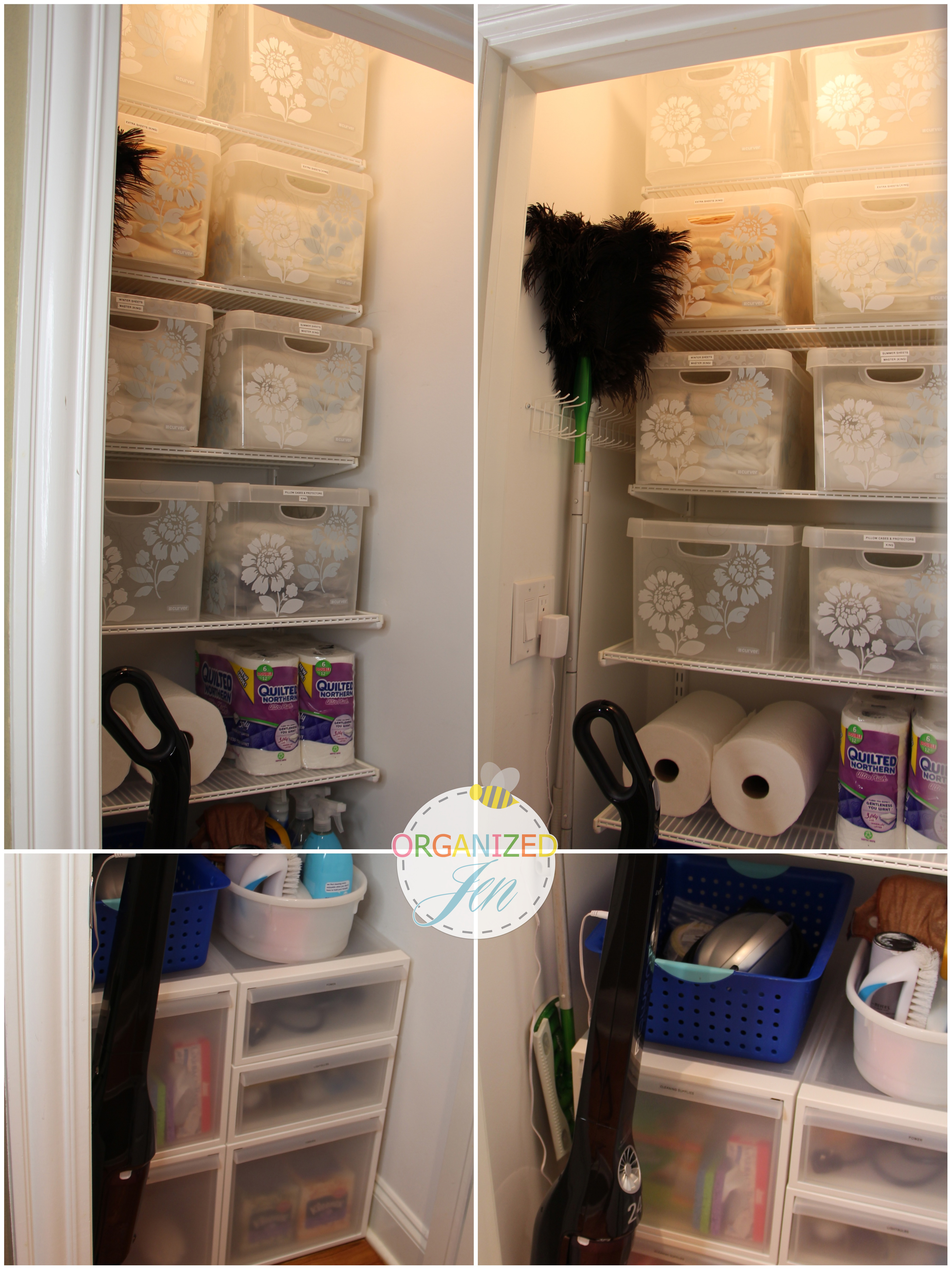organizer brilliant ideas organization linen closet