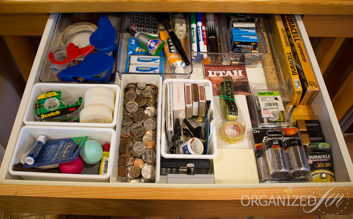 Kitchen Drawer Organizing Kitchen Desk Junk Drawer Organization Kitchen Series 2013