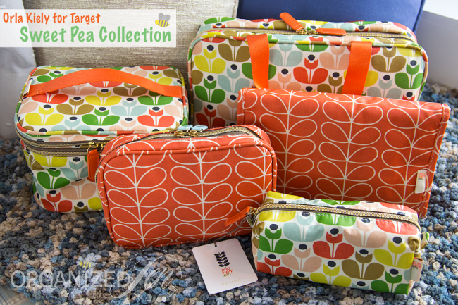 show amp tell orla kiely for target cosmetic bag collection