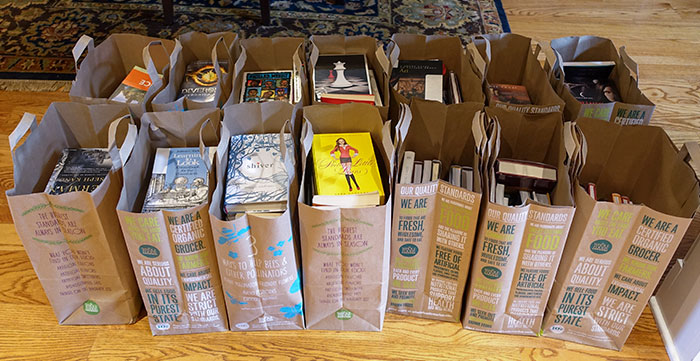 book donations 2015