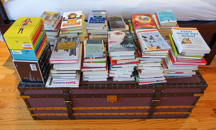 book purge spring cleaning 2015
