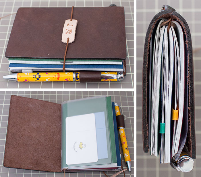 midori-travelers-notebook-passport-filled