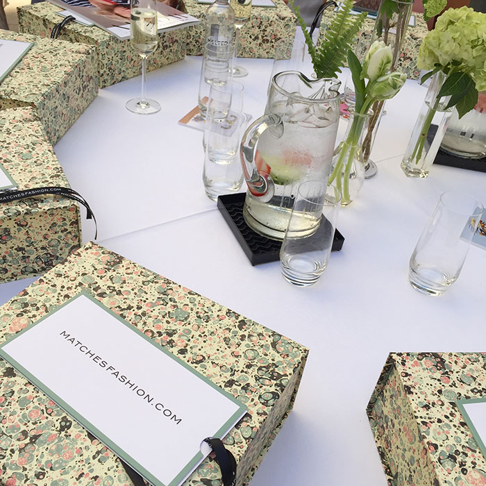 rewardstyle conference 2015 matches fashion lunch