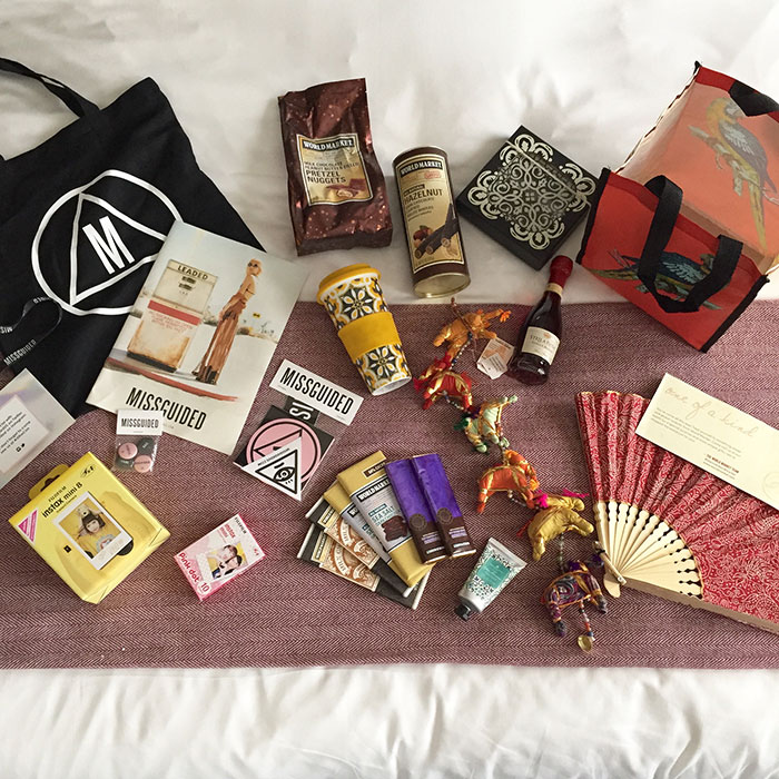 rewardstyle conference 2015 swag