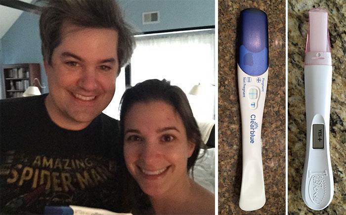 postive pregnancy test 2015