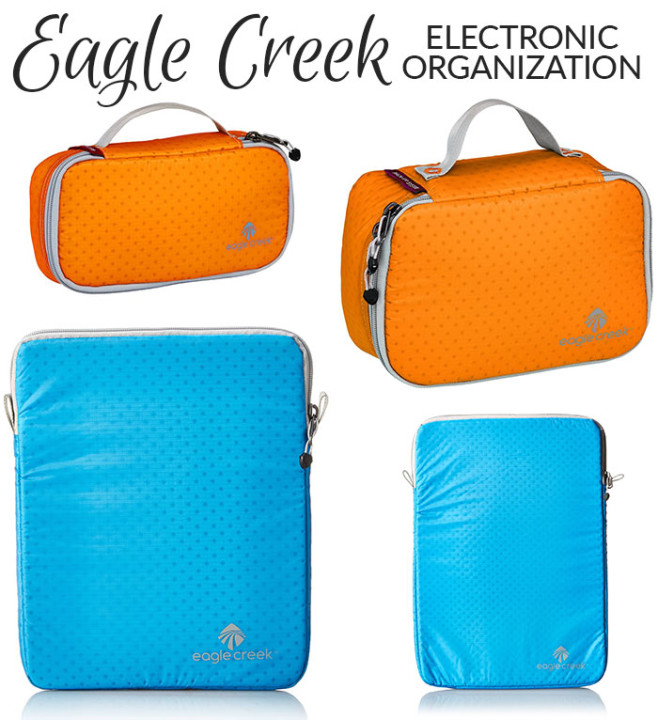 eagle creek pack-it electronic organizers
