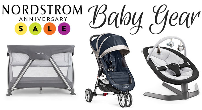 nordstrom anniversary sale baby gear