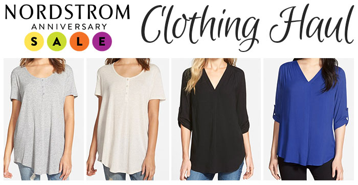 nordstrom anniversary sale clothing haul