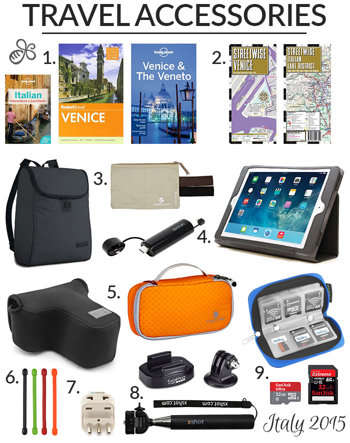 travel accessories 2015 italy