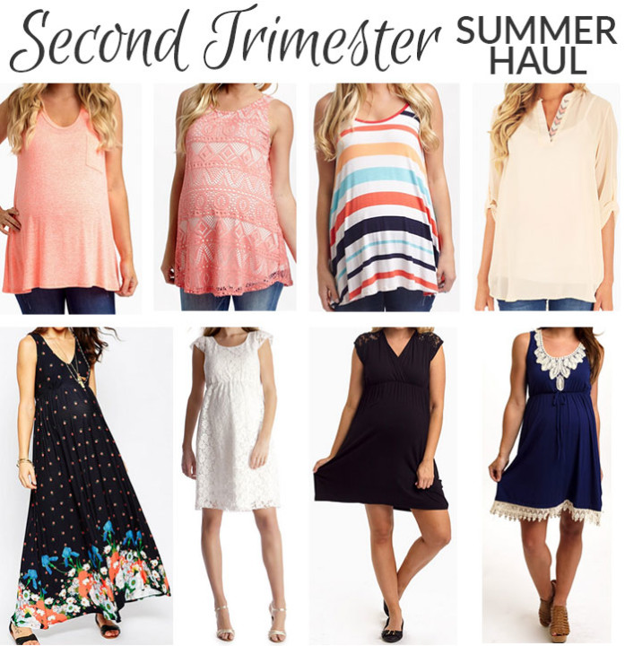 second trimester clothing haul 2015