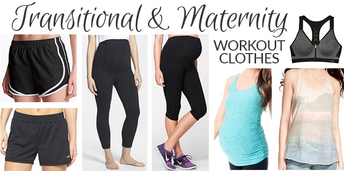 transitional maternity workout clothes 2015