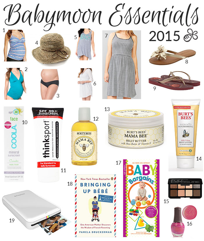 babymoon essentials 2015