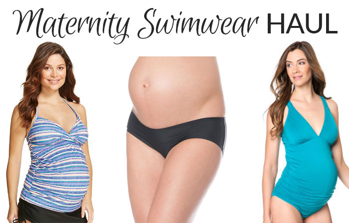 maternity swimwear haul fall 2015