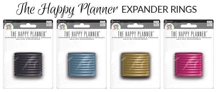 happy planner expandable rings 2015