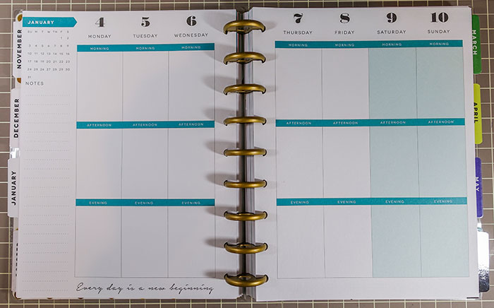 Amazing image in happy planner monthly layout printable