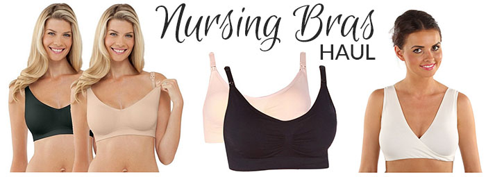 nursing bras haul october 2015