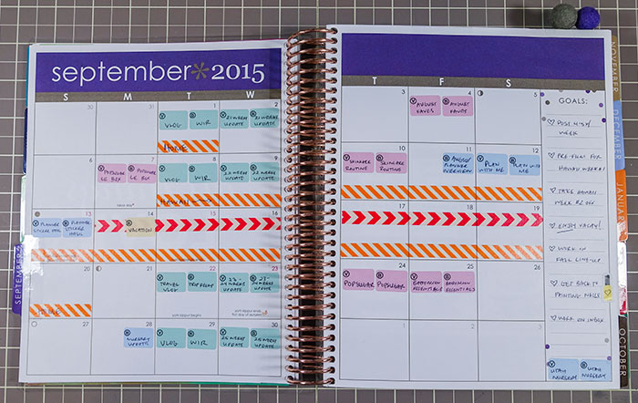 planner overview september 2015 month