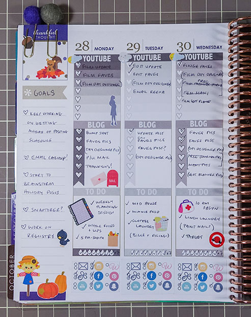 planner overview september 2015 week 5