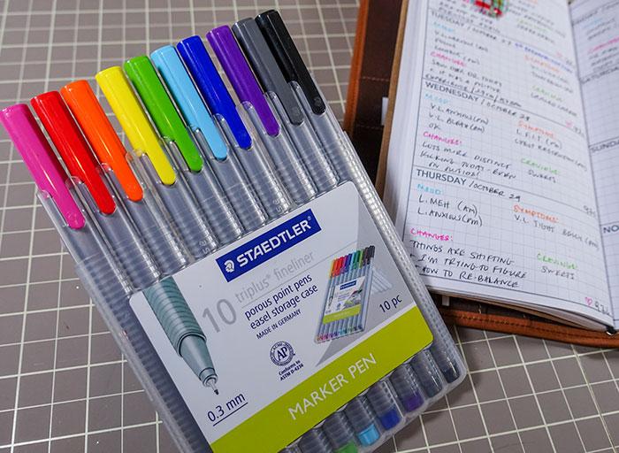 pregnancy journal color coding