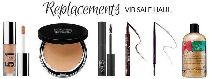 sephora vib sale beauty haul fall 2015 replacements