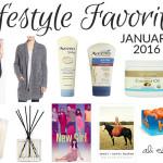 lifestyle favorites january 2016