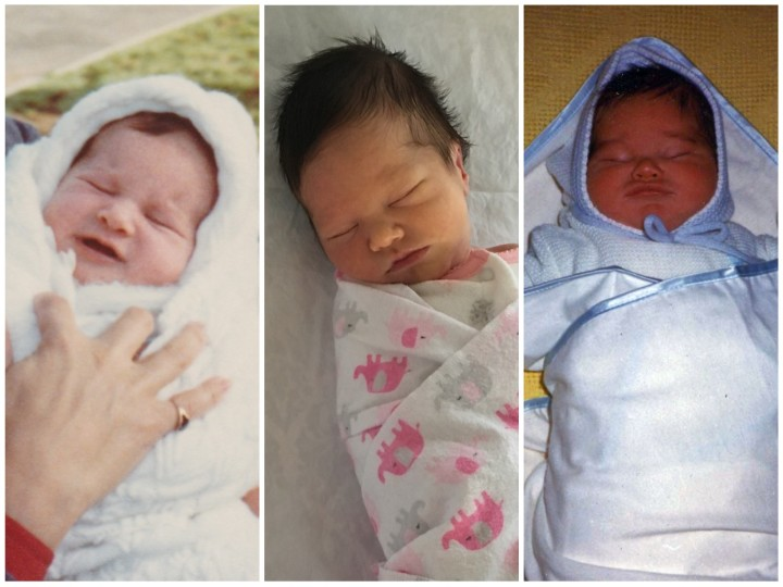 parents baby newborn comparison 01-2016
