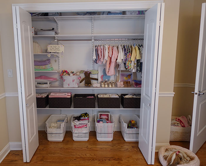 charlotte nursery closet february 2016