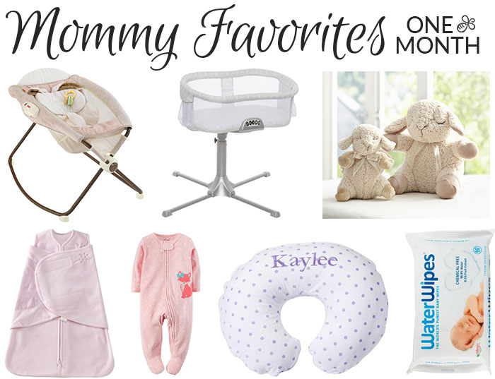 mommy favorites one month old 2016