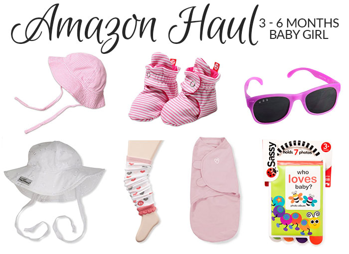 baby girl amazon haul 3 month old 2016