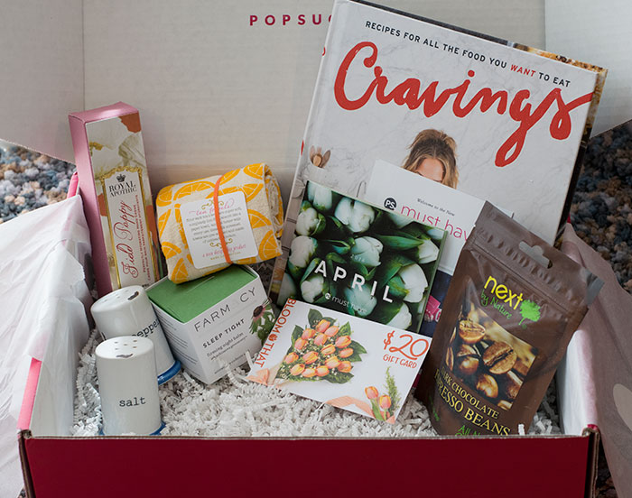 popsugar must have box april 2016