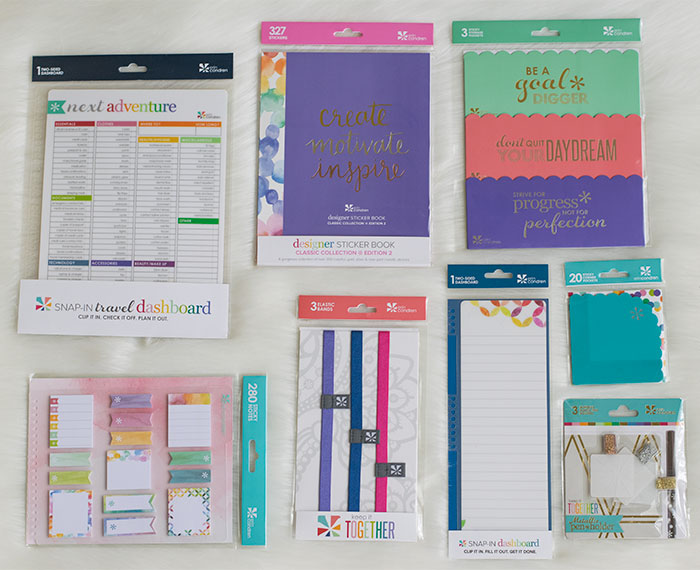 erin condren life planner 2016-17 accessories