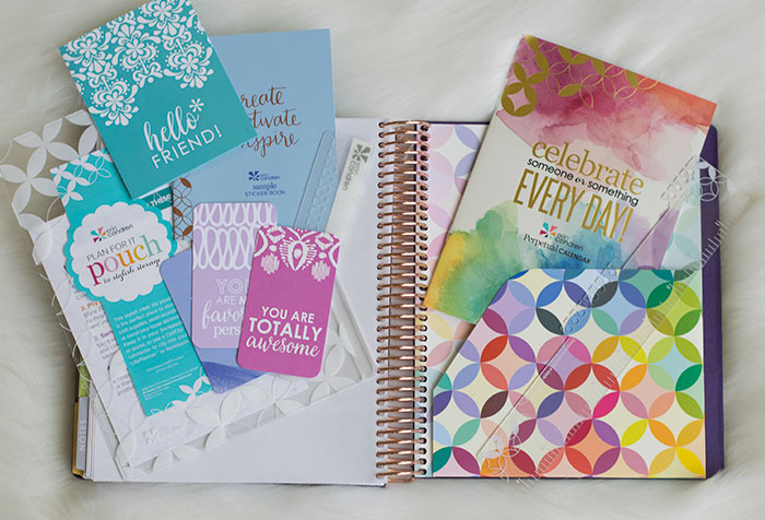 erin condren life planner 2016-17 colorful folder poiuch