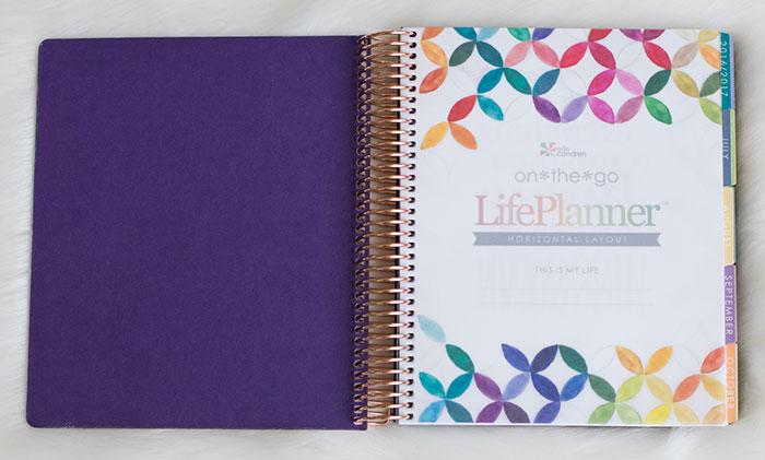 erin condren life planner 2016-17 colorful vellum