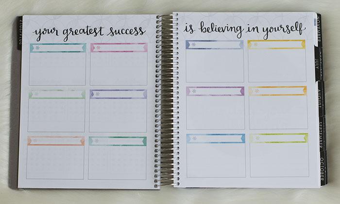erin condren life planner 2016-17 neutral goal setting