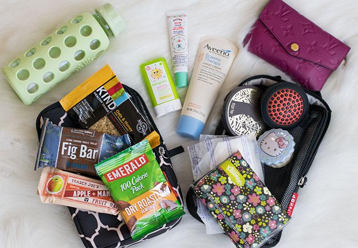 diaper bag contents personal 2016