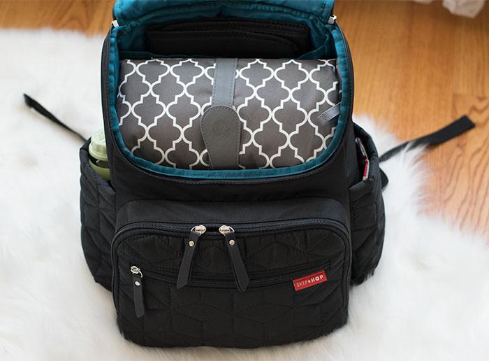 diaper bag organization clutch 2016
