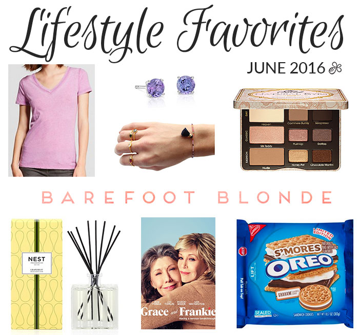 lifestyle favorites june 2016