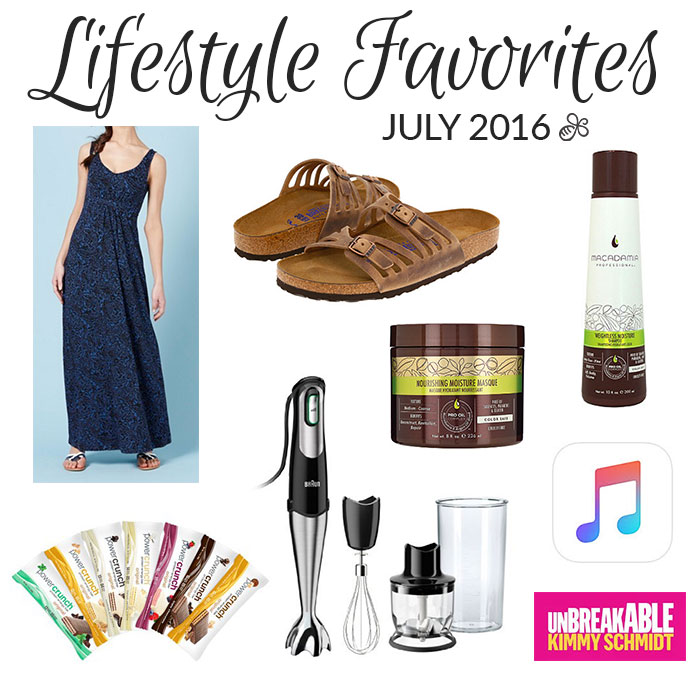 lifestyle favorites july 2016