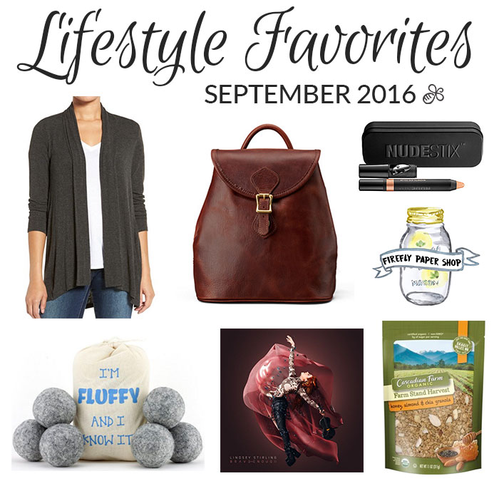 lifestyle favorites september 2016