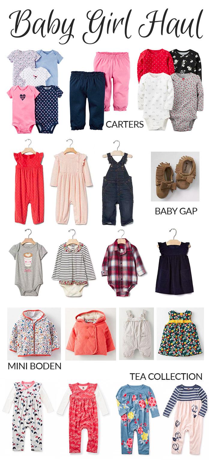 baby haul September 2016