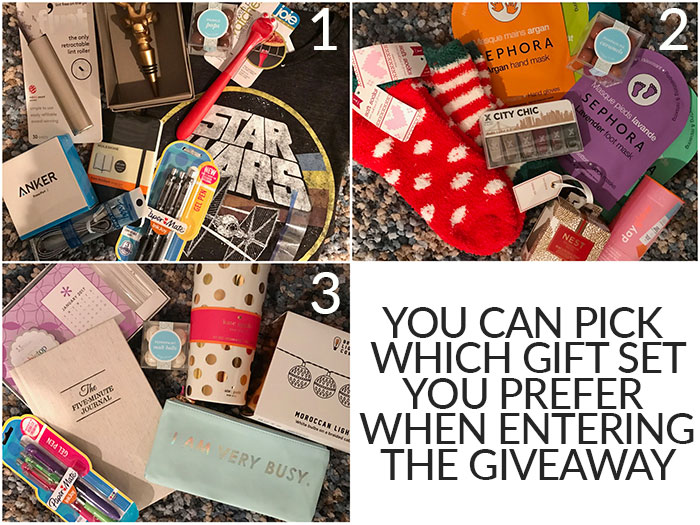 stocking stuffers giveaway 2016