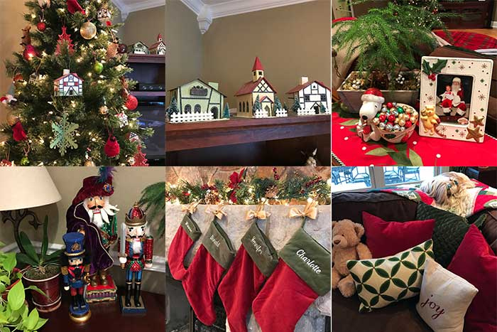 holiday decor tour 2016 family room