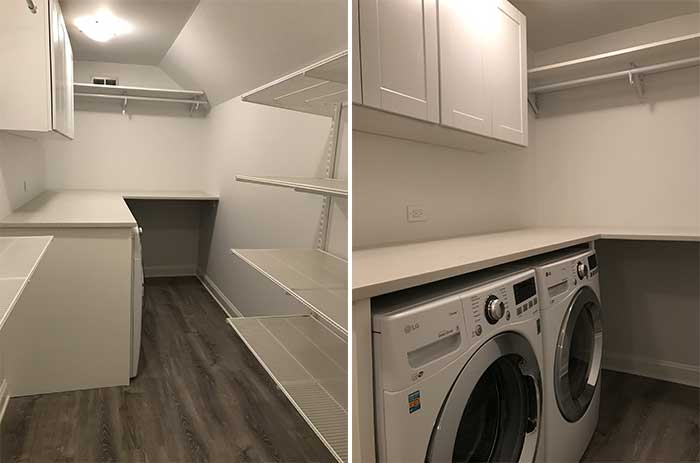 Closet Renovation Laundry Room Addition Pretty Neat Living