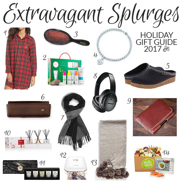 Holiday Gift Guide 2017   Extravagant Splurges - Pretty Neat Living