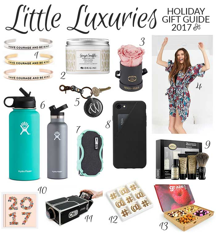 Holiday gift guide 2017 little luxuries pretty neat living 1 lillian co bracelets 28 i adore these beautiful cuff style mantra bracelets with disney inspired quotes i own four and i wear one every day negle Gallery